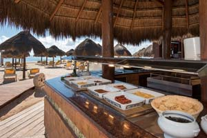 Coco Buffet  - Iberostar Selection Paraiso Lindo - 5 Star All-Inclusive Resort, Riviera Maya, Mexico
